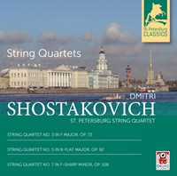 Dmitri Shostakovich: String Qu ST. PETERSBURG STRING QUARTET