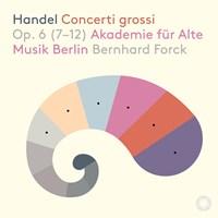 HANDEL: Concerto Grossi op.6 Forck,Bernhard/AAMB
