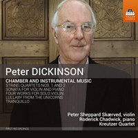Dickinson: Chamber/Instrumental Sheppard Skaerved/Chadwick/+