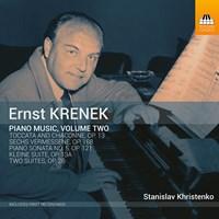 KRENEK: Piano Music Vol.2 Khristenko,Stanislav