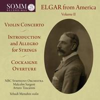 ELGAR FROM AMERICA VOL.2 Sargent/Toscanini/Menuhin/+