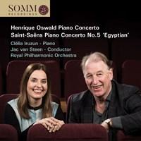 Oswald/Saint-Saens: Piano Ctos. Iruzun/van Steen/RPO