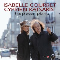 HARP MEETS PIANO Courret/Katsaris