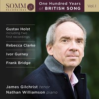 One Hundred Years of British Song Gilchrist,James/Williamson,N.