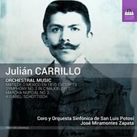 CARRILLO: Orchestral Music Avila/Zapata/OS de San Luis