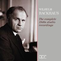 BACKHAUS: 1940s studio rec. Backhaus,Wilhelm