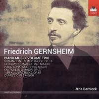 GERNSHEIM: Piano Music Vol.2 Barnieck,Jens