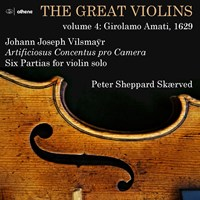 THE GREAT VIOLINS VOL.4 Sheppard Skaerved,Peter