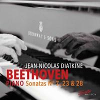 Beethoven: Piano Sonatas 4,23,28 Diatkine,Jean-Nicolas