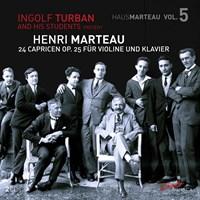 MARTEAU: 24 Caprices op.25 Turban,Ingolf/+