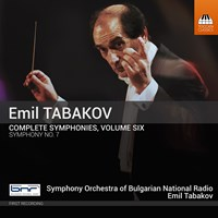 TABAKOV: Symphonies Vol.6 Tabakov,Emil/Bulgarian NRSO