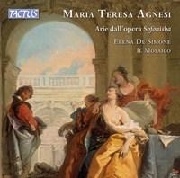 AGNESI: Arias from Sofonisba De Simone/Ensemble Il Mosaico