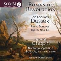 DUSSKE: Piano Sonatas op.35 Dussek,Michael