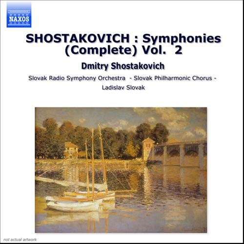SHOSTAKOVICH : Symphonies (Complete) Vol  2 - NaxosDirect