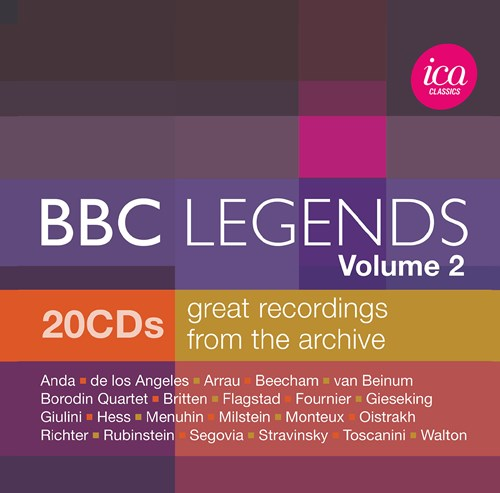Bbc Legends Great Recordings From The Archive Vol 2