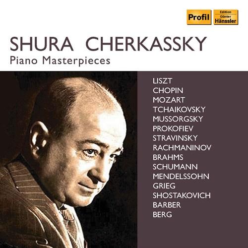Shura Cherkassky Piano Masterpieces - NaxosDirect