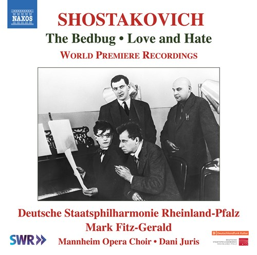 Image result for Shostakovich: The Bedbug (Naxos)