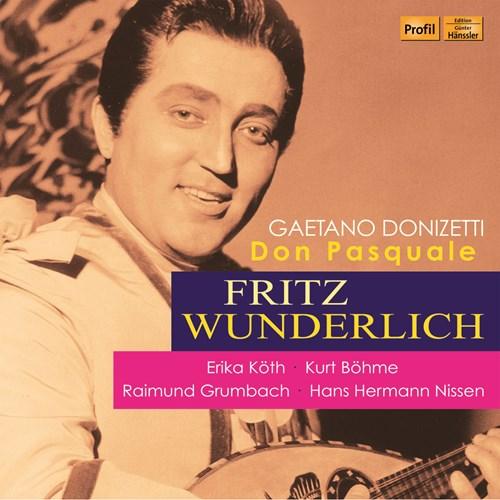 DONIZETTI: Don Pasquale Böhme/Wunderlich/Köth/+