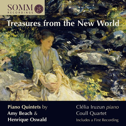 Treasures from the New World Iruzun/Coull Quartet
