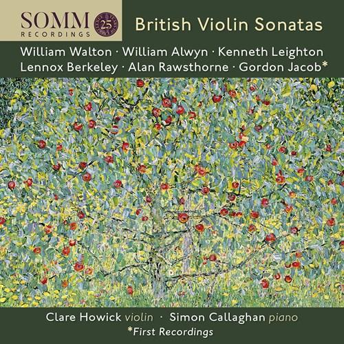 BRITISH VIOLIN SONATAS Howick,Clare/Callaghan,Simon