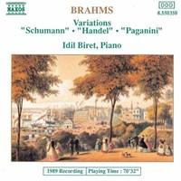 BRAHMS: Variations BIRET,IDIL