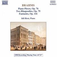 BRAHMS:Piano Pieces Op.76 etc. BIRET,IDIL