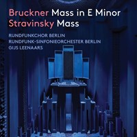Bruckner/Stravinsky: Masses Rundfunkchor Berlin/Leenaars