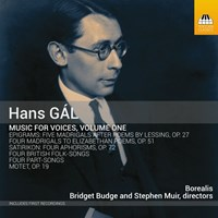 GAL: Music for Voices Vol.1 Borealis/Budge/Muir