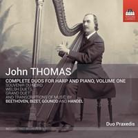 THOMAS: Duos for Harp+Piano 1 Duo Praxedis