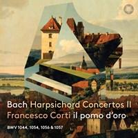 BACH: Harpsichord Concertos II Corti,Francesco/+