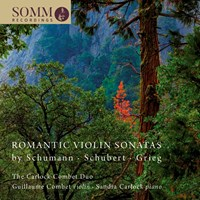 Romantic Violin Sonatas The Carlock-Combet Duo