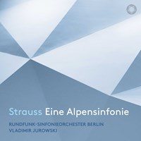 STRAUSS: Eine Alpensinfonie Jurowski,Vladimir/RSB