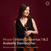 MOZART: Violin Concertos 1+2 Steinbacher/Dodds/+