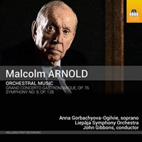 ARNOLD: Orchestral Music Gibbons/Liepaja SO/+