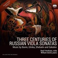 Three Centuries of Russian Viola Vendryes,Basil/David,William