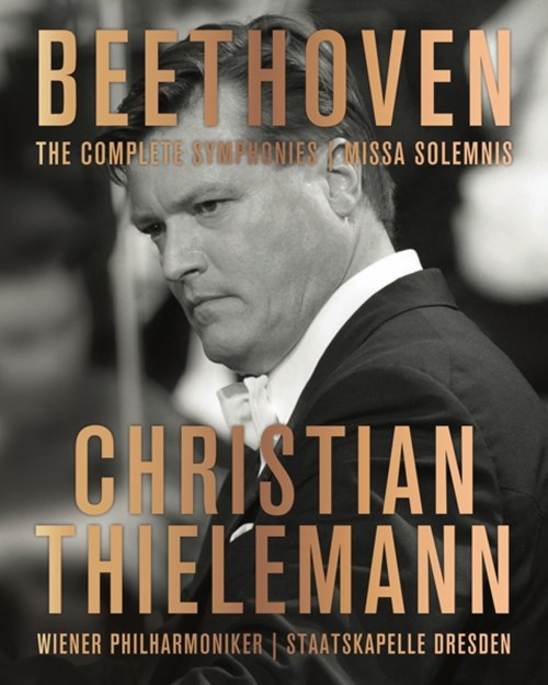 BEETHOVEN: Symphonies (BD) Thielemann/WPO/SD